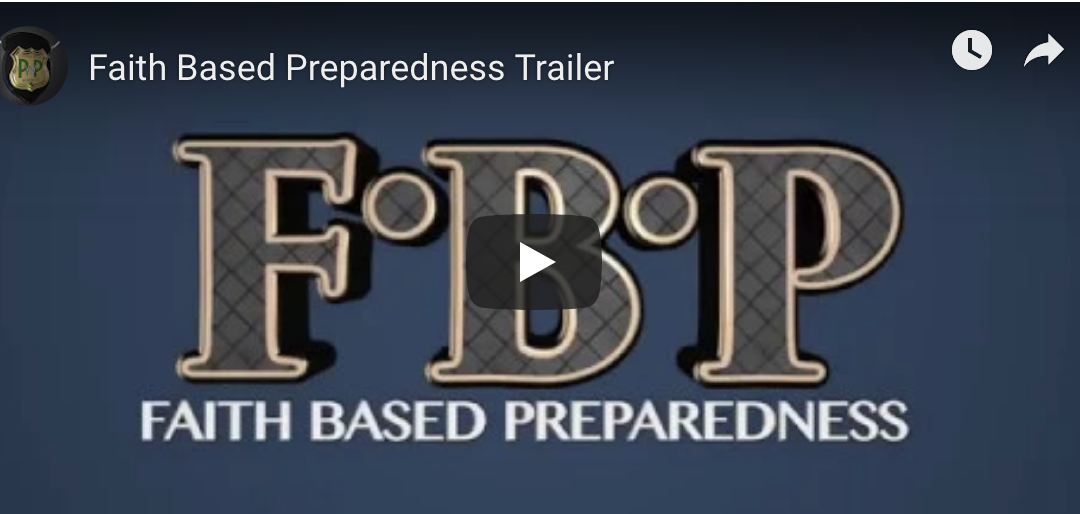 Faith Based Preparedness